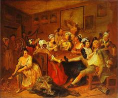 10 November we celebrate the birth of William Hogarth, born 1697. Hogarth left the studio for the last time in 1764.