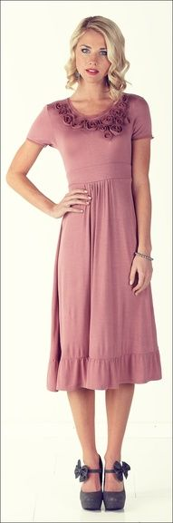 Mikarose Emma Dress-cuz I get so tired of wearing skirts and shirts!