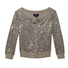 Just because it's January, doesn't mean you can't be festive anymore. Wear this sparkly sweater to keep the joy going.