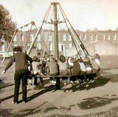 Witches Hat banned play ground equipment but one was missed when I was a kid in the 70's in Bricket Wood I loved it!