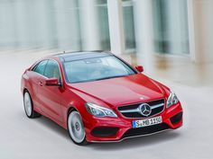 Mercedes E Coupe 2013 Red