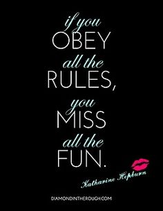 well said, hepburn!