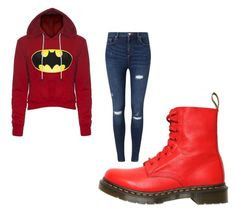 """""""Untitled #2"""" by hndrxx ❤ liked on Polyvore featuring Miss Selfridge and Dr. Martens"""