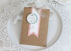 Stampin Up - Box - Goodie - Gift Bag - Tüte - Give Away - Geschenktüte mit Punktemuster ☆ Stempelmami