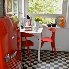 Urban Style, Bohemian, Bilder Und Bücher, Farbenfroh Retro Küche. FarbenfrohSchöner  WohnenUrbaner Stil