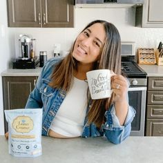 ✨Morning Mom Fuel ✨ @raising.a.mini Everyone that knows me knows I love me a vanilla latte! Tried recreating my faves at home (bc #quarantine) and failed miserably (ask my hubby). Finally found a coconut oil vanilla creamer @leanercreamer which is lactose free (yay) and FOOL proof 😅