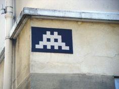 Space Invader Rue Terre Neuve (75020)