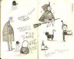 sketchbook34 by Alex T Smith, via Flickr