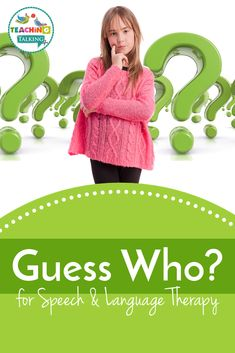 The Guess Who Game is great fun for school-aged kids and is ideal for learning to ask and answer yes / no questions in Speech Therapy. It teaches kids to ask questions in a specific way. The best way to use the Guess Who? Game for Speech Therapy is for teaching descriptive language for faces. This can be particularly useful for older, verbal kids with autism who maybe need a little help to notice differences in facial features.