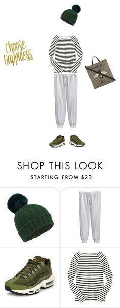 """""""Sporty day!"""" by mmarky ❤ liked on Polyvore featuring Miss Selfridge, Calypso St. Barth, NIKE, Gap and Gucci"""