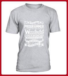 Programmer Big Cup Wonderful Sauce Sassy Crazy TShirt - Spaß shirts (*Partner-Link)