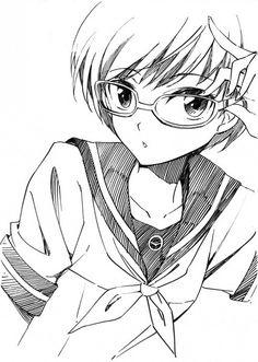 Tags: Sketch, Satonaka Chie, Shin Megami Tensei: PERSONA 4, Agahari