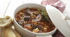 Meat: Beef Bourguignon Still Life royalty-free stock photo Traditional French Recipes, Classic French Dishes, French Food, Beef Bourguignonne, Easy French Recipes, Hearty Beef Stew, Cooking Green Beans, Casserole Recipes, Food Network Recipes