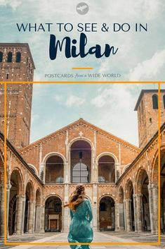 Check out this ultimate guide to Milan! Venice Travel, Rome Travel, Spain Travel, Travel Europe, Italy Destinations, Road Trip, Things To Do In Italy, Travel City, Italy Travel Tips