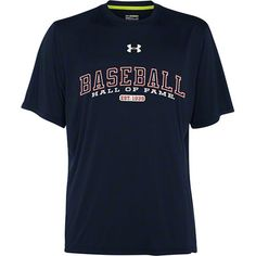 National Baseball Hall of Fame Under Armour Navy Catalyst T-Shirt