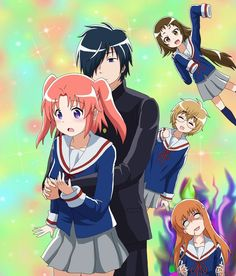 Mikakunin de Shinkoukei (Engagement to the Unidentified) 7/10. Average shoujo/slice of life anime. Cute art and characters.