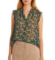 Top fluide chemise Cherryl - Gerard Darel - Galeries Lafayette b72233018cf