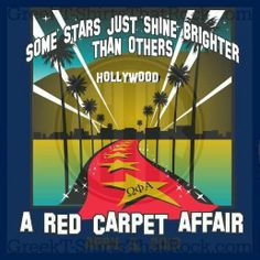A red carpet affair. Some starts just shine brighter than the others. Hollywood. Theme. Bid Day, Recruitment, and Rush Shirts. Call us Today! 800-644-3066