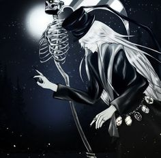 Undertaker Blackbutler Kuroshitsuji Shinigami Reaper Grim Black Butler