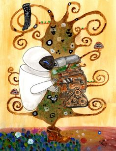 Klimt's mix: Lifetree + Kiss by GiovyLoCa.deviantart.com on @DeviantArt
