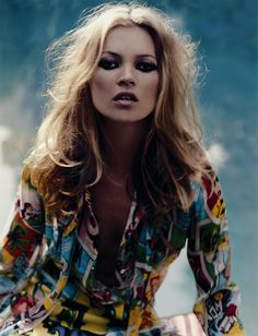 Kate Moss for AnOther Magazine S/S04. Pinned by Modeconnect.com
