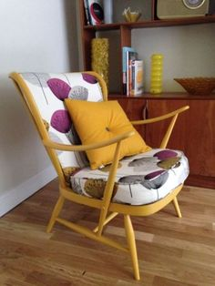Gorgeous ercol chair with nice cushions