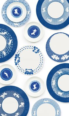 2015 TREND: MOD DELFT | Ceramic dishes, Rising. https://www.facebook.com/rising.tw & http://www.maison-objet.com/en/paris/exhibitors/september-2014/rising-taiwan-new-design