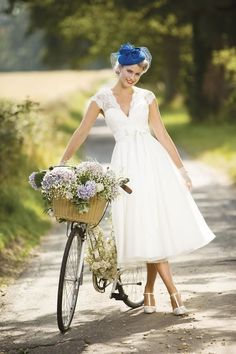 Brighton Belle Short Tea Length Wedding Dress 1049 Eva More