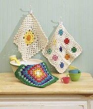 Crochet dishcloth pattern|crochet dishcloth for beginners - Leisurearts