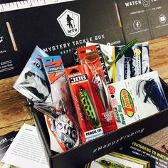 c3bd812091e The Mystery Tackle Box is a great fishing gift, packed full of fishing gear  every