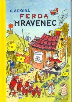 Cover of children book Ferda Mravenec
