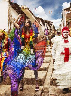 Mario Testino + Peru = beautifully surreal