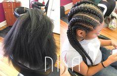 Protective Hairstyles For Natural Hair, Natural Hair Styles, Jumbo Cornrows, Natural Hair Transitioning, Best B, Goddess Braids, Natural Women, Winter Hairstyles, Protective Styles