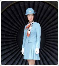 Korean Air Flight Attendant Uniforms over the last our decades ~ Cabin Crew Photos