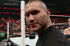 Randy Orton giving his best wink out to all the ladies