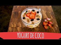 Receta: Yogur de coco (con probióticos) - YouTube