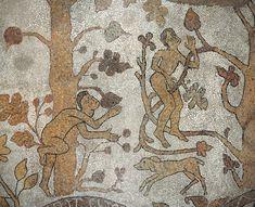 Pavement mosaic, 1163, Cattedrale di Santa Maria Annunziata, Otranto, Italia, photo: Giuseppe and Pierluigi Bolognini