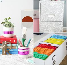 10 DIYS to Organize your Office