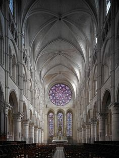 Laon, Cathédrale Notre-Dame - Mapping Gothic France