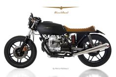 """Black Boot"" Moto Guzzi V35 from personal garage | marco matteucci"