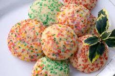 Yummy sugar cookie balls
