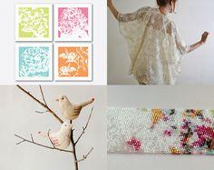 Spring Chic TREASURY on ETSY by Ana Cravidao 2015-04-22