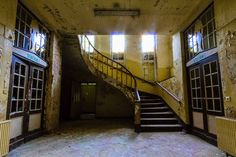 Elisabeth-Sanatorium E Abandoned Clinic Berlin Potsdam - Top 11 most haunted abandoned places in Germany