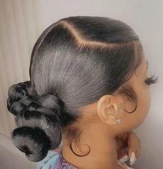 Black Girl Braided Hairstyles, Baddie Hairstyles, Ponytail Hairstyles, Weave Hairstyles, Hairstyle Ideas, Hair Ideas, Hair Ponytail Styles, Curly Hair Styles, Natural Hair Styles