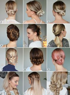 Party hairdos - NUDE | Lily.fi