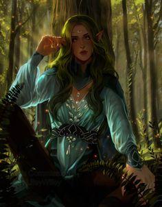 D D Characters, Fantasy Characters, Fictional Characters, Female Elf, Art Programs, Elves, Character Art, Art Pieces, Photoshop