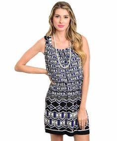 fafccef043d5 BLACK ROYAL WHITE MISSY DRESS. Glamline TT