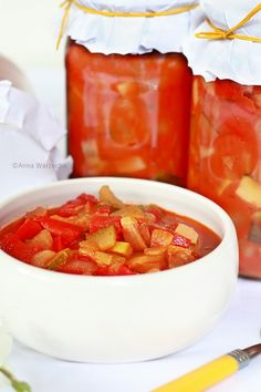 Ketchup, Chutney, Zucchini, Salsa, Bakery, Vegan Recipes, Food And Drink, Menu, Canning