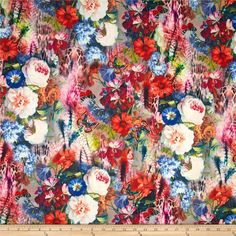 A best-seller all year round, this medium weight knit fabric is sure to inspire beautiful creations