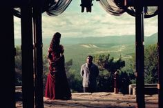 Still of Chiwetel Ejiofor and Morena Baccarin in Serenity